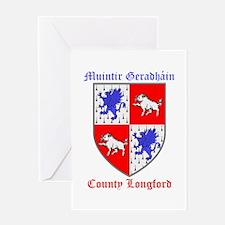Muintir Geradhain - County Longford Greeting Cards
