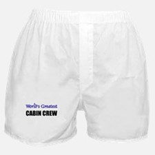 Worlds Greatest CABIN CREW Boxer Shorts