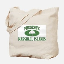 Preserve Marshall Islands Tote Bag