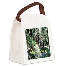A Walk In Muir Woods Canvas Lunch Bag