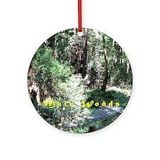 A Walk In Muir Woods Round Ornament
