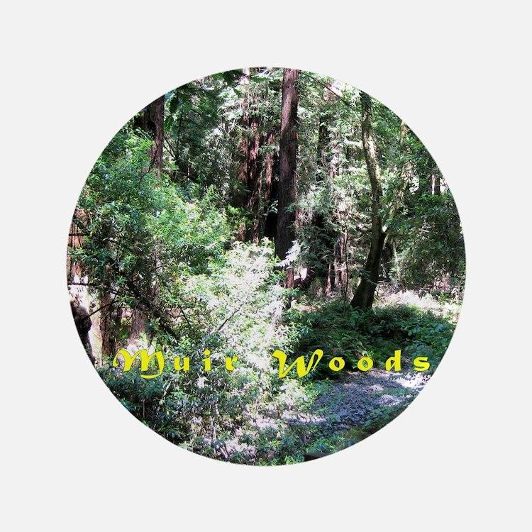 A Walk In Muir Woods Button