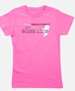 Unique Black belt Girl's Tee
