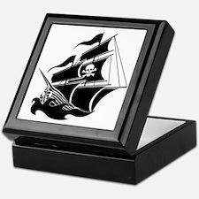 Pirate Ship Keepsake Box