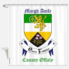 Maigh Aoife - County Offaly Shower Curtain