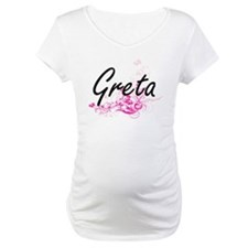 Greta Artistic Name Design with Shirt