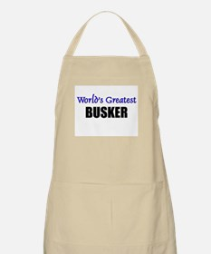 Worlds Greatest BUSKER BBQ Apron