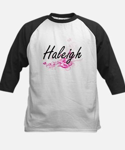 Haleigh Artistic Name Design with Baseball Jersey