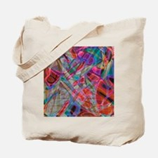 Colorful Stained Glass G1 Tote Bag