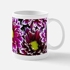 Purple, Pink, Dahlias Mugs