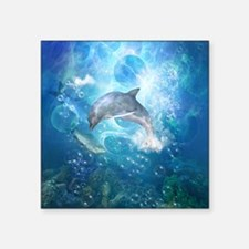 Wonderful dolphin Sticker