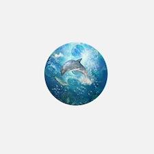 Wonderful dolphin Mini Button (10 pack)