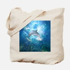 Wonderful dolphin Tote Bag