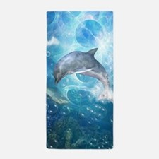 Wonderful dolphin Beach Towel