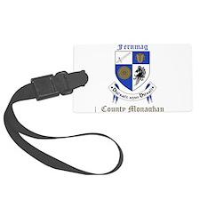 Fernmag - County Monaghan Luggage Tag