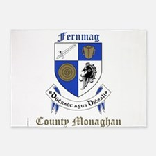 Fernmag - County Monaghan 5'x7'Area Rug