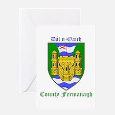Dal n-Oaich - County Fermanagh Greeting Cards