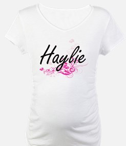 Haylie Artistic Name Design with Shirt