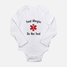 Cute Ibs awareness special diet Long Sleeve Infant Bodysuit
