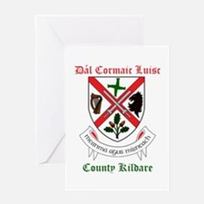 Dal Cormaic Luisc - County Kildare Greeting Cards