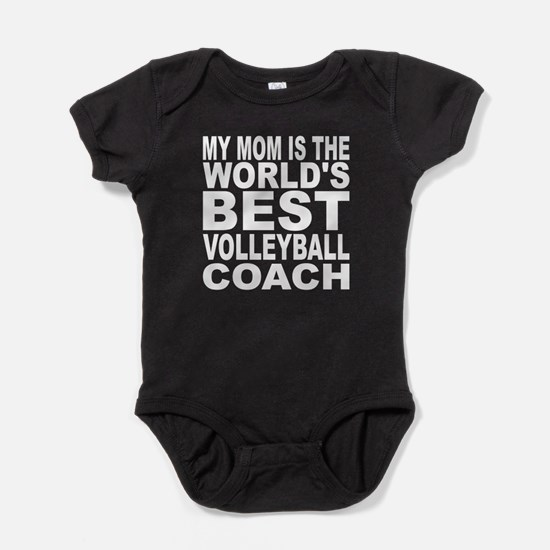 My Mom Is The Worlds Best Volleyball Coach Baby Bo