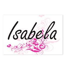 Isabela Artistic Name Des Postcards (Package of 8)