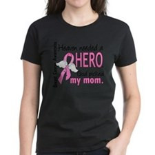 I wear pink ribbon for my mom mother mommy Tee