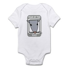 Year Of The Rat Infant Bodysuit