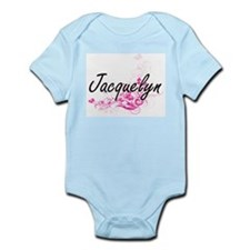 Jacquelyn Artistic Name Design with Flow Body Suit