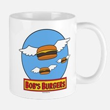 Bob's Burgers Flying Burgers Mug