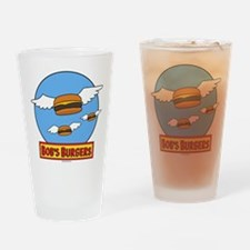 Bob's Burgers Flying Burgers Drinking Glass
