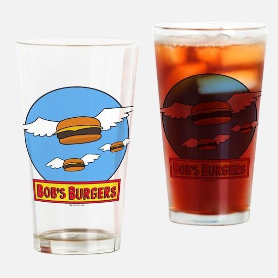 Bob's Burgers Flying Burgers Drinking Glass
