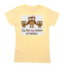 Unique Family baby twins Girl's Tee
