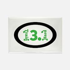 13.1 Train Hard green Magnets
