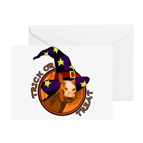Trick Or Treat. Halloween Horse Greeting Card