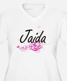 Jaida Artistic Name Design with Plus Size T-Shirt
