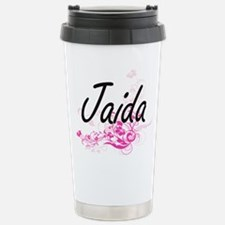 Jaida Artistic Name Des Travel Mug