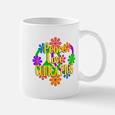 Peace Love Guinea Pigs Mug