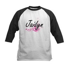 Jaidyn Artistic Name Design with F Baseball Jersey