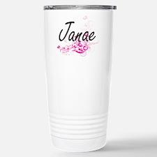 Janae Artistic Name Des Travel Mug