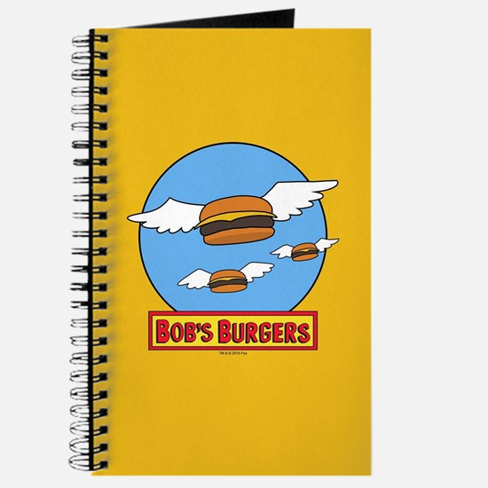 Bob's Burgers Flying Burgers Journal