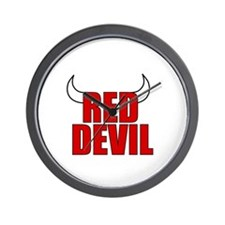 Red Devil Wall Clock