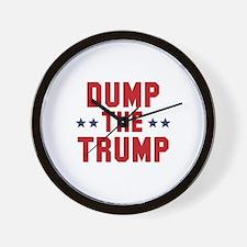 Dump The Trump Wall Clock