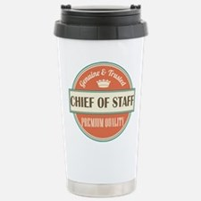 chief of staff vintage Travel Mug