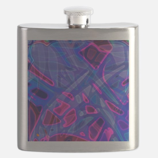 Colorful Stained Glass G5 Flask