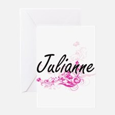 Julianne Artistic Name Design with Greeting Cards