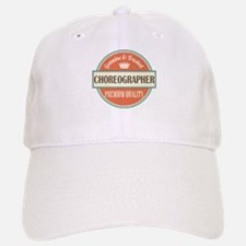 choreographer vintage logo Baseball Baseball Cap