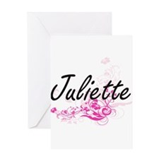 Juliette Artistic Name Design with Greeting Cards