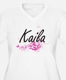Kaila Artistic Name Design with Plus Size T-Shirt
