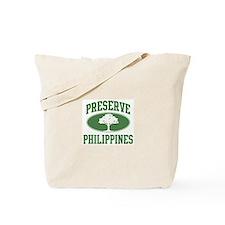 Preserve Philippines Tote Bag